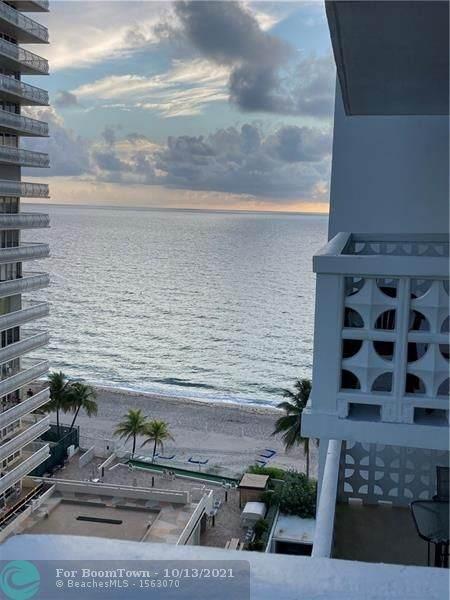 4010 Galt Ocean Drive #1115, Fort Lauderdale, FL 33308 (MLS #F10304440) :: The DJ & Lindsey Team