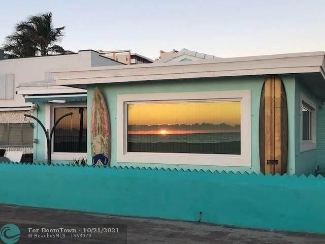 300 Monroe St, Hollywood, FL 33019 (MLS #F10305405) :: The Mejia Group | LoKation Real Estate