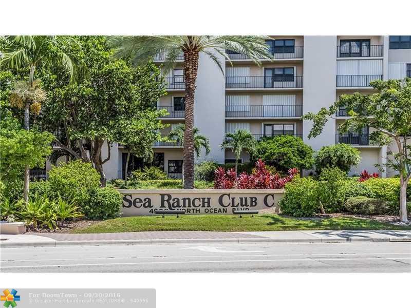 4900 N Ocean Blvd #321, Lauderdale By The Sea, FL 33308 (MLS #F10031630) :: United Realty Group