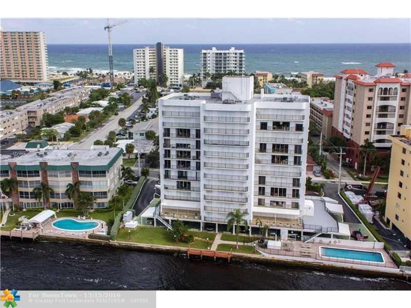 701 N Riverside Dr #803, Pompano Beach, FL 33062 (MLS #F10037228) :: United Realty Group