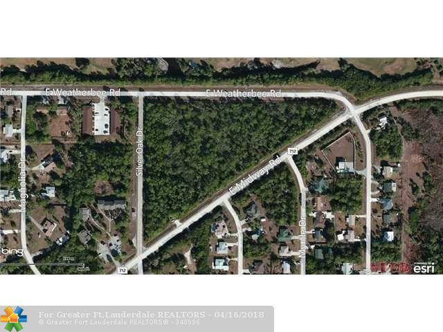 0 E Weatherbee Rd & E Midway Rd., Fort Pierce, FL 34982 (MLS #F10109874) :: Green Realty Properties