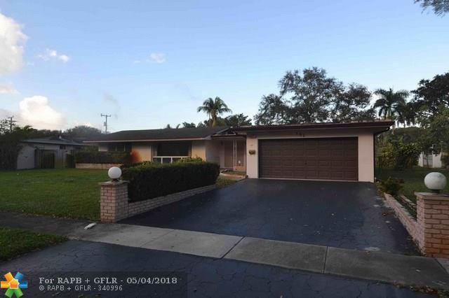 151 SW 58th Ave, Plantation, FL 33317 (MLS #F10111150) :: Green Realty Properties