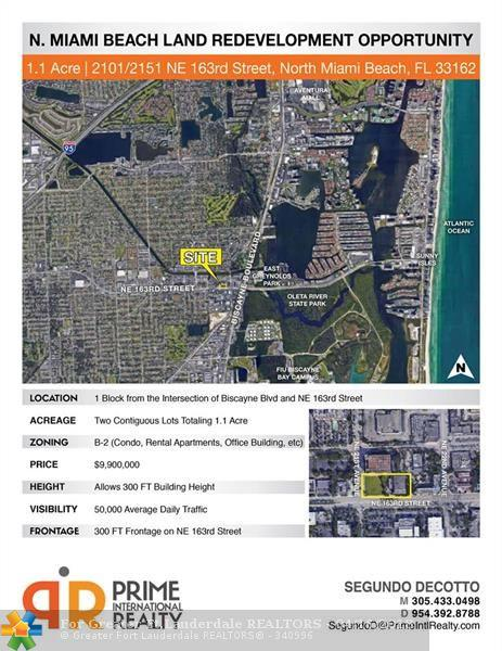 2151 NE 163rd St, North Miami Beach, FL 33162 (MLS #F10113383) :: Green Realty Properties