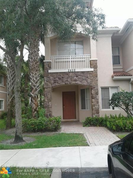 2856 SW 83 AVE #101, Miramar, FL 33025 (MLS #F10122814) :: Green Realty Properties