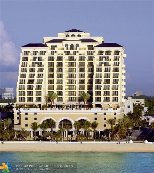 601 N Ft. Lauderdale Beach Blvd #609, Fort Lauderdale, FL 33304 (MLS #F10125808) :: The O'Flaherty Team