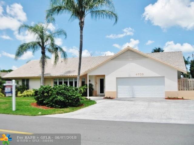 4709 NE 23rd Ave, Fort Lauderdale, FL 33308 (MLS #F10125816) :: Green Realty Properties