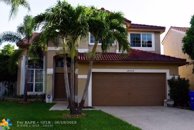 18243 NW 20 Street, Pembroke Pines, FL 33029 (MLS #F10126284) :: Green Realty Properties