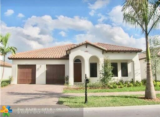 3217 NW 84TH WAY, Cooper City, FL 33024 (MLS #F10127046) :: Green Realty Properties