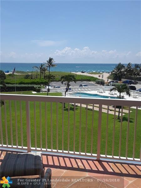 1300 N Ocean Blvd #307, Pompano Beach, FL 33062 (MLS #F10131049) :: Green Realty Properties