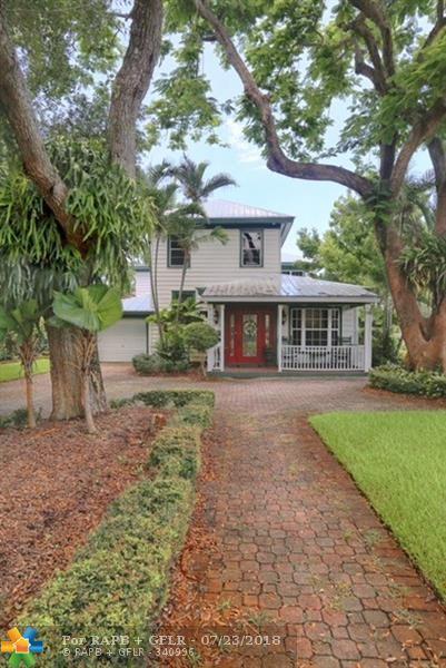 1209 N Rio Vista Blvd, Fort Lauderdale, FL 33301 (MLS #F10132175) :: Green Realty Properties