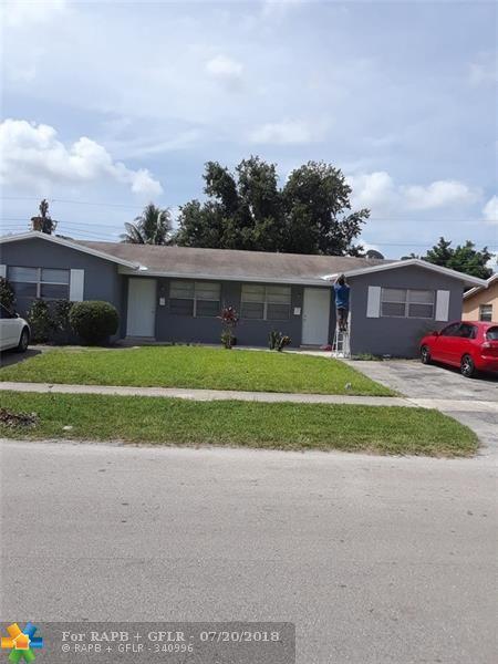 5400 NW 16th Ct, Lauderhill, FL 33313 (MLS #F10132491) :: Green Realty Properties