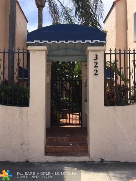 322 Monroe St 104A, Hollywood, FL 33019 (MLS #F10133757) :: Green Realty Properties