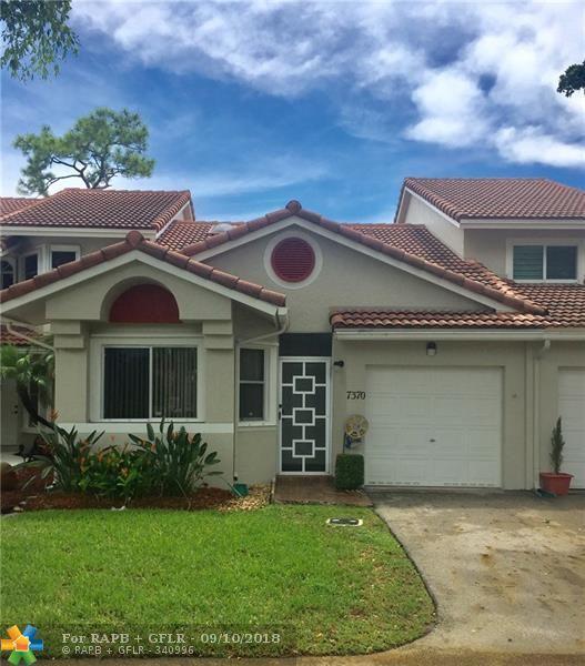 7370 W Pinewalk Dr #7370, Margate, FL 33063 (MLS #F10139470) :: Green Realty Properties