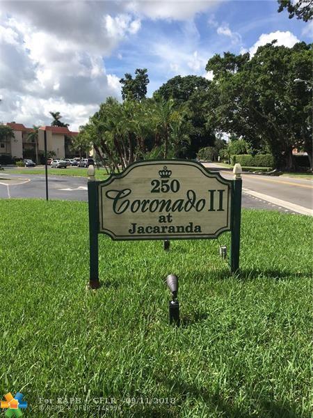 250 Jacaranda Dr #101, Plantation, FL 33324 (MLS #F10140240) :: Green Realty Properties