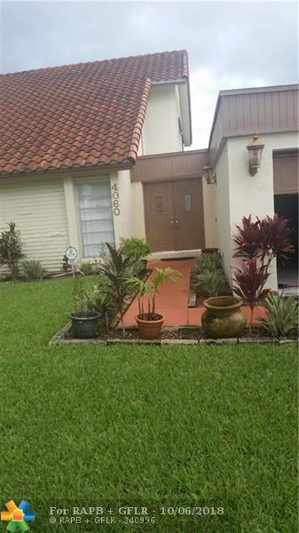 4060 NW 93rd Ave, Sunrise, FL 33351 (MLS #F10142904) :: Green Realty Properties