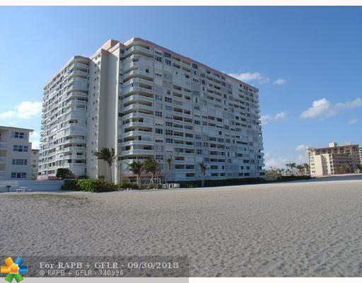 1012 N Ocean Blvd #504, Pompano Beach, FL 33062 (MLS #F10142916) :: Green Realty Properties