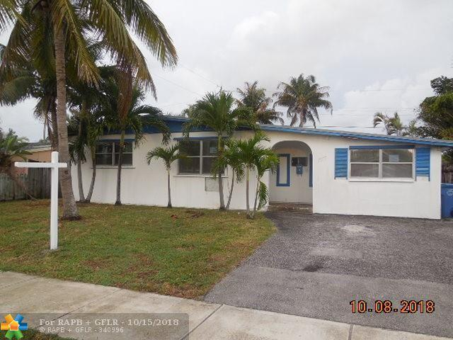 4111 NW 11th Ave, Oakland Park, FL 33309 (MLS #F10145325) :: Green Realty Properties