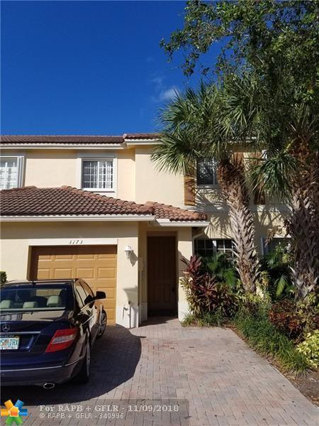 3173 NW 32nd St #3173, Oakland Park, FL 33309 (MLS #F10149111) :: Green Realty Properties