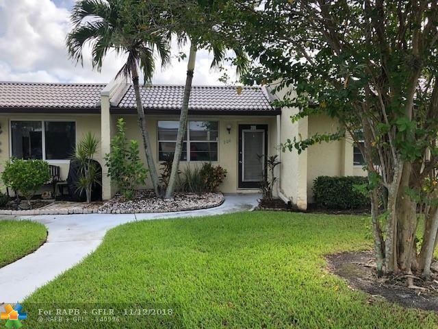 206 Lake Meryl Dr #206, West Palm Beach, FL 33411 (MLS #F10149407) :: Green Realty Properties
