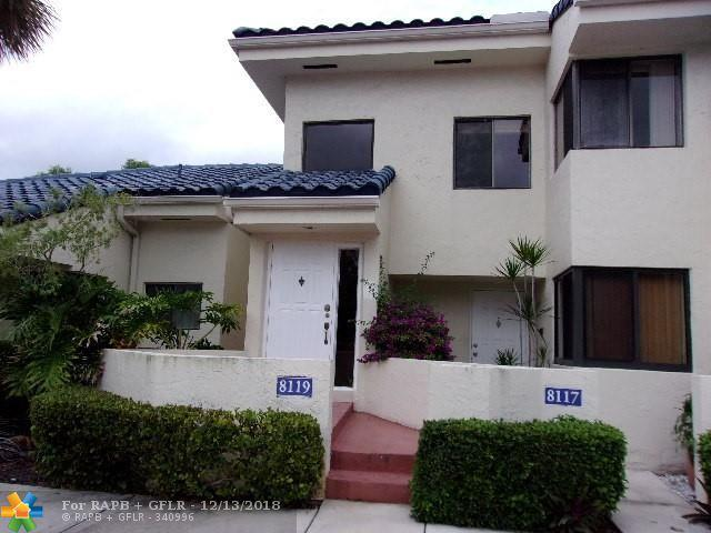 8119 NW 17th Mnr #8119, Plantation, FL 33322 (MLS #F10153393) :: Green Realty Properties