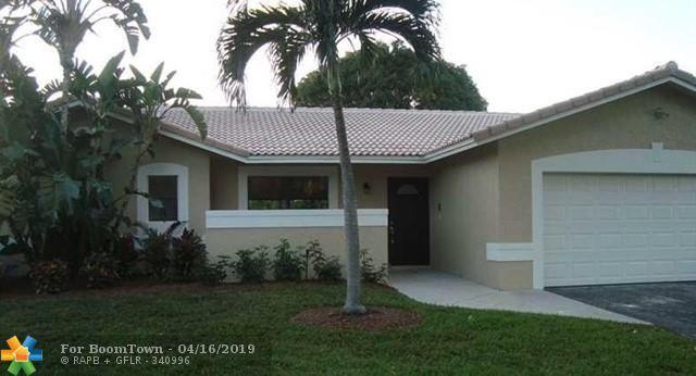 1736 NW 92nd Way, Coral Springs, FL 33071 (MLS #F10169664) :: Green Realty Properties