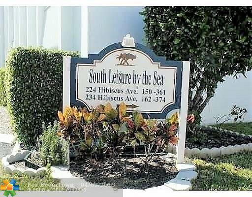 234 Hibiscus Ave #266, Lauderdale By The Sea, FL 33308 (MLS #F10170778) :: The O'Flaherty Team