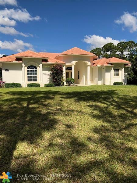 15633 Jupiter Farms Rd, Jupiter, FL 33478 (MLS #F10172865) :: Green Realty Properties
