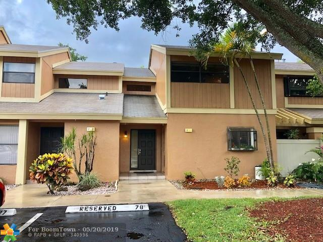 2121 NW 45th Ave #2121, Coconut Creek, FL 33066 (MLS #F10173963) :: Green Realty Properties