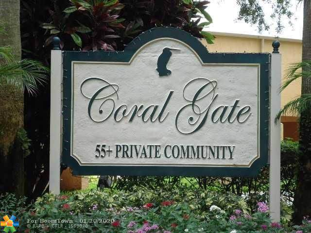 6336 Coral Lake Dr #312, Margate, FL 33063 (MLS #F10207409) :: Castelli Real Estate Services