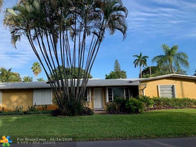 1501 NE 35th St, Oakland Park, FL 33334 (MLS #F10212967) :: Berkshire Hathaway HomeServices EWM Realty