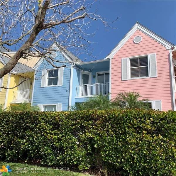 2870 Marina Cir #2870, Lighthouse Point, FL 33064 (MLS #F10217052) :: Green Realty Properties