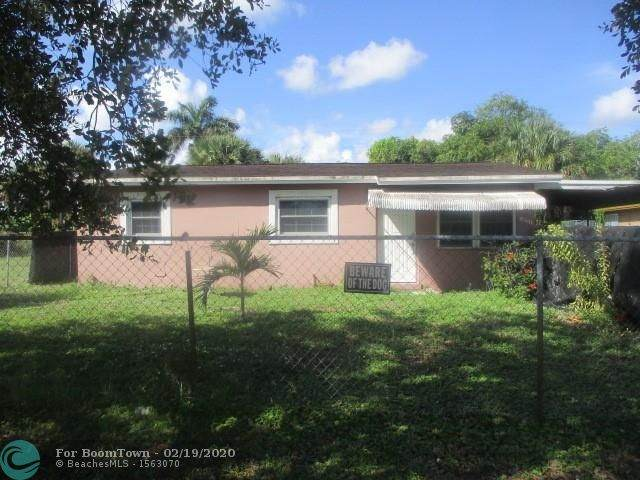 1031 NW 23rd Ave, Fort Lauderdale, FL 33311 (MLS #F10217559) :: Green Realty Properties