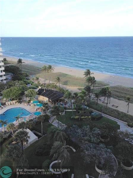 5000 N Ocean #1110, Lauderdale By The Sea, FL 33308 (MLS #F10217731) :: Best Florida Houses of RE/MAX