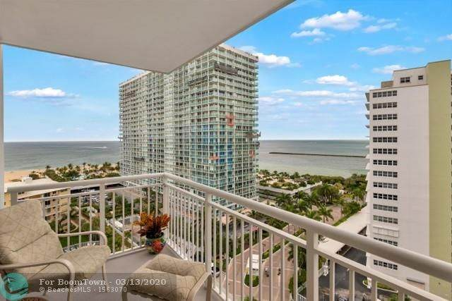 1920 S Ocean Dr #1402, Fort Lauderdale, FL 33316 (MLS #F10219895) :: Berkshire Hathaway HomeServices EWM Realty