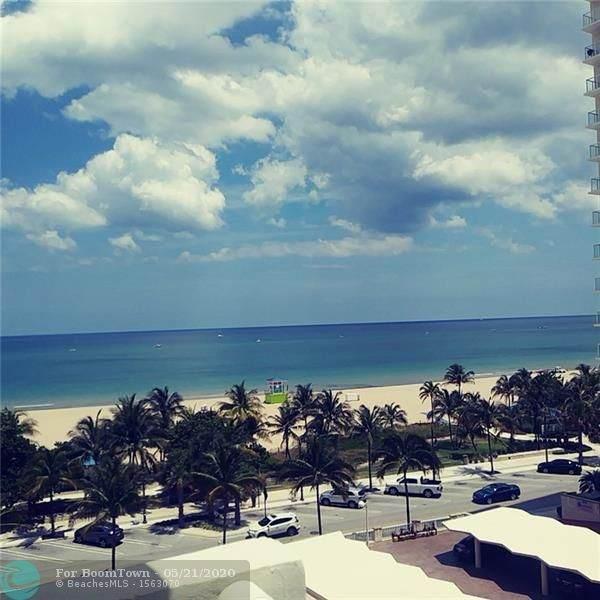 133 N Pompano Beach Blvd #605, Pompano Beach, FL 33062 (MLS #F10229502) :: Lucido Global