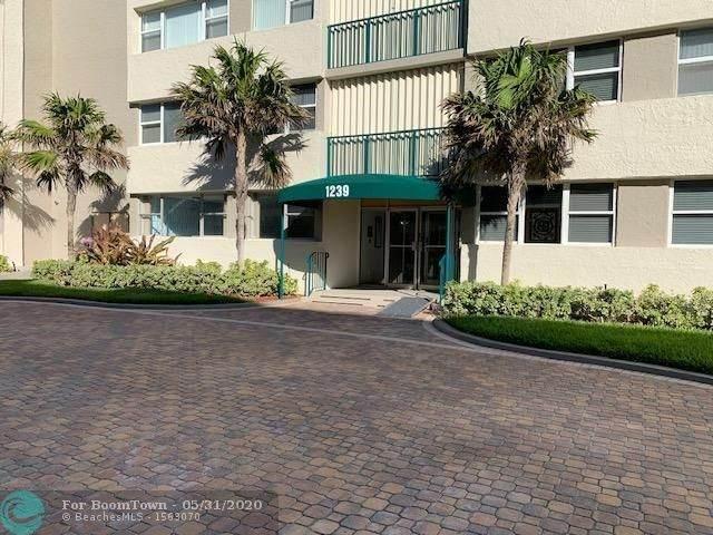 1239 Hillsboro Mile #205, Hillsboro Beach, FL 33062 (MLS #F10231813) :: THE BANNON GROUP at RE/MAX CONSULTANTS REALTY I