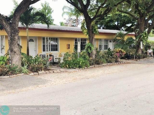 1717 NE 12th St, Fort Lauderdale, FL 33304 (MLS #F10232743) :: The Paiz Group