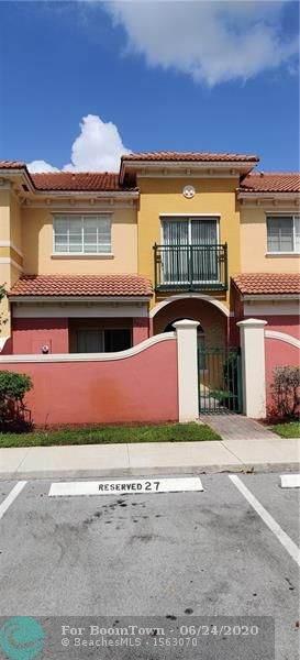 3001 NW 36th Ln #3001, Lauderdale Lakes, FL 33311 (MLS #F10235558) :: Green Realty Properties