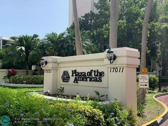 16919 N Bay Rd #709, Sunny Isles Beach, FL 33160 (MLS #F10235626) :: Castelli Real Estate Services