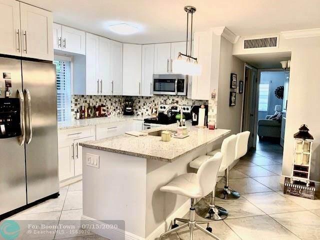 292 Normandy Lane G G, Delray Beach, FL 33484 (MLS #F10238905) :: Berkshire Hathaway HomeServices EWM Realty