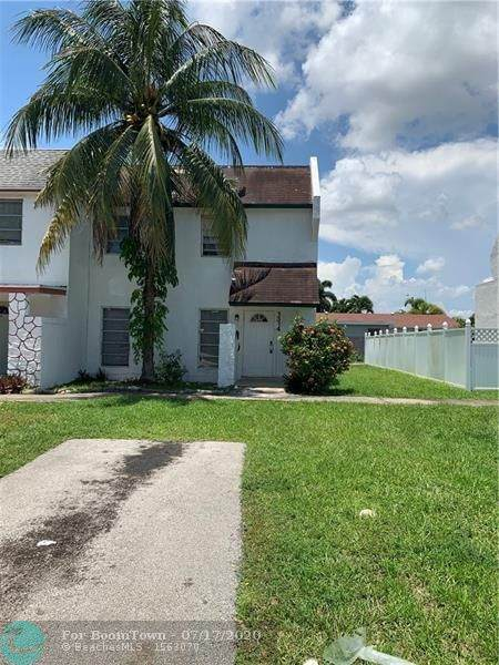 1314 Silverado, North Lauderdale, FL 33068 (MLS #F10239399) :: THE BANNON GROUP at RE/MAX CONSULTANTS REALTY I