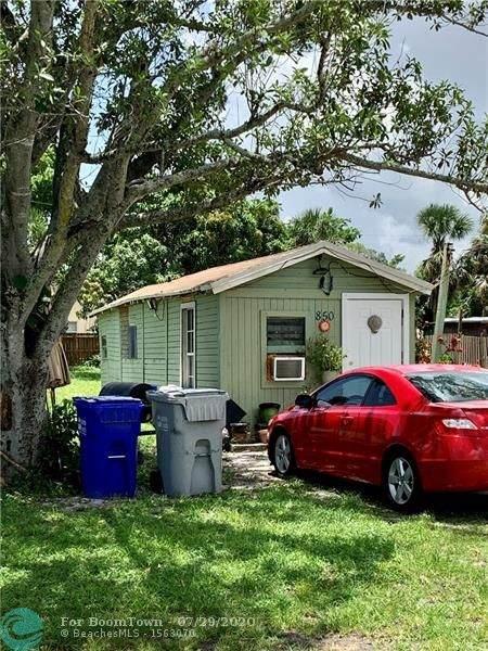 850 SW 9th St, Pompano Beach, FL 33060 (#F10241150) :: Ryan Jennings Group
