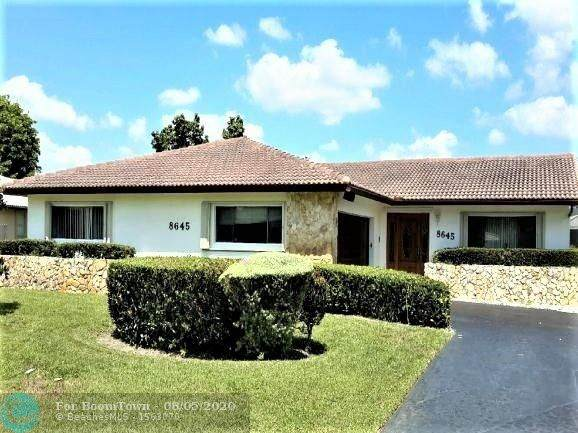 8645 Ramblewood Dr, Coral Springs, FL 33071 (MLS #F10241607) :: Berkshire Hathaway HomeServices EWM Realty