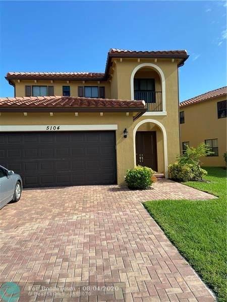 5104 NW 47th St, Tamarac, FL 33319 (MLS #F10242117) :: Green Realty Properties