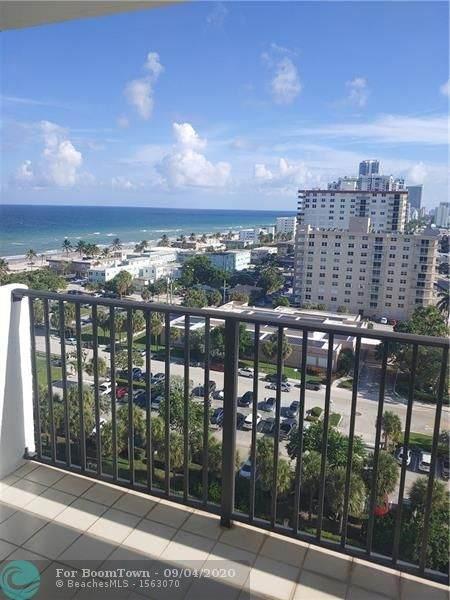 1201 S Ocean 1412S, Hollywood, FL 33019 (#F10245054) :: Posh Properties