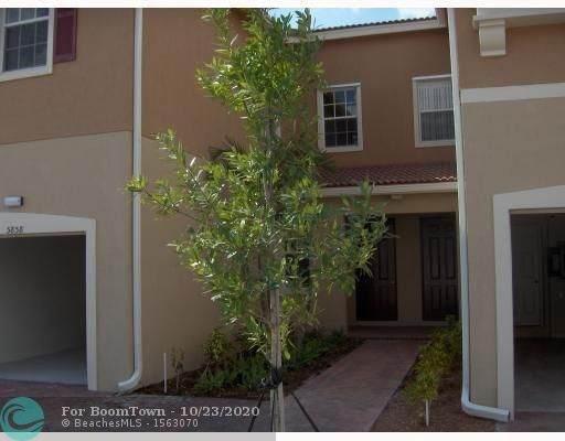 5858 Hampton Hills Blvd #6104, Tamarac, FL 33321 (MLS #F10254879) :: Berkshire Hathaway HomeServices EWM Realty