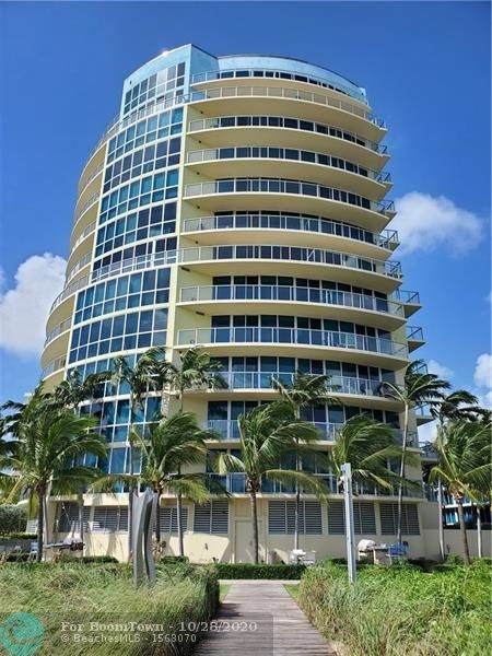 1200 Holiday Dr #307, Fort Lauderdale, FL 33316 (MLS #F10255884) :: Berkshire Hathaway HomeServices EWM Realty