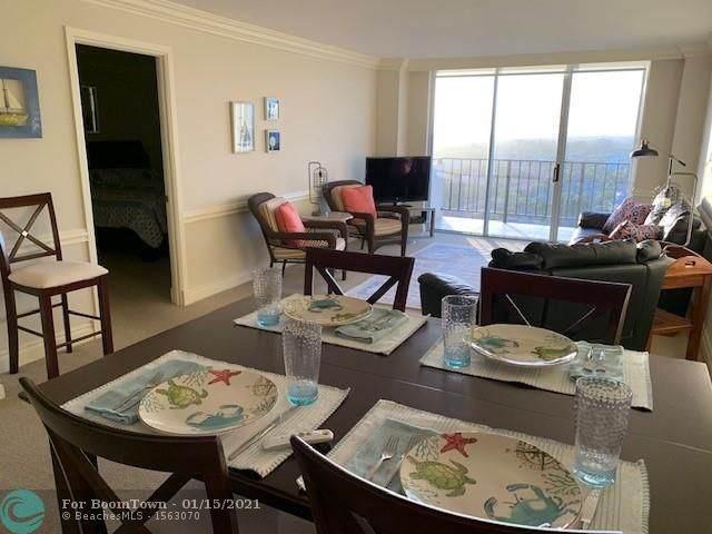 1900 S Ocean Blvd 16P Penthouse, Pompano Beach, FL 33062 (MLS #F10256072) :: Patty Accorto Team