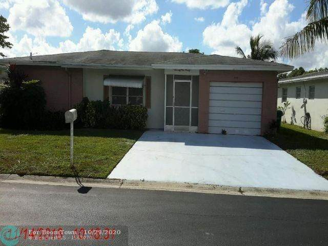 7190 NW 8th Ct, Margate, FL 33063 (MLS #F10256288) :: United Realty Group