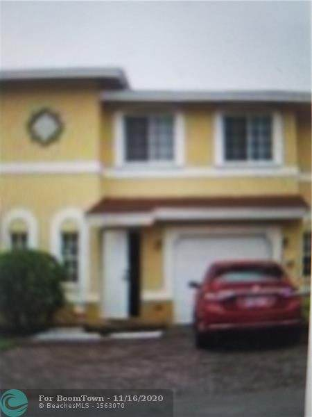 1391 Avon Ln #1391, North Lauderdale, FL 33068 (MLS #F10257809) :: Castelli Real Estate Services